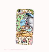 New Japan Anime Spirited Away Totoro Hard White Cover Case for iPhone 4 4s 5 5s 5c 6 6s Protect Phone Cases