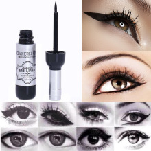 TOMTOSH 1pcs Red Wine Bottle Eyeliner Waterproof Liquid Eyeliner Cosmetics Black Beauty Beauty Tools