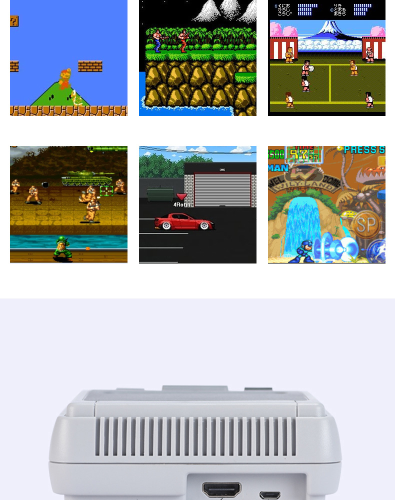 OTHA Mini Edition Game Console HDMI HD 4K Built-In 621 No Repeat Games Handheld Gaming Player Best Gift For Kids Christmas Gift