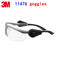 3M 11476 safety glasses safety glasses 3M protective goggles High-strength anti-shock Double spotlights gafas de seguridad