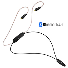 2017 New NiceHCK HB1 Wireless Bluetooth 4.1 Cable HIFI Earphone MMCX Cable Support Apt-X Aptx Use For SE846 LZ A4 A3 Shanling M1