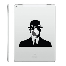 "Son of Man Laptop Decal for Apple iPad Decal Air 9.7"" / mini 7.9"" / Pro 12.9"" Tablet PC Macbook Sticker Notebook Partial Skin"