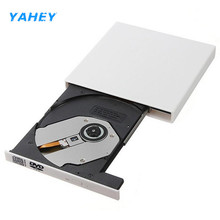 Portable USB 2.0 DVD Drive Combo CD RW Burner Writer External Optical Drives DVD ROM Player for Laptop Computer pc, Windows7/8(China)
