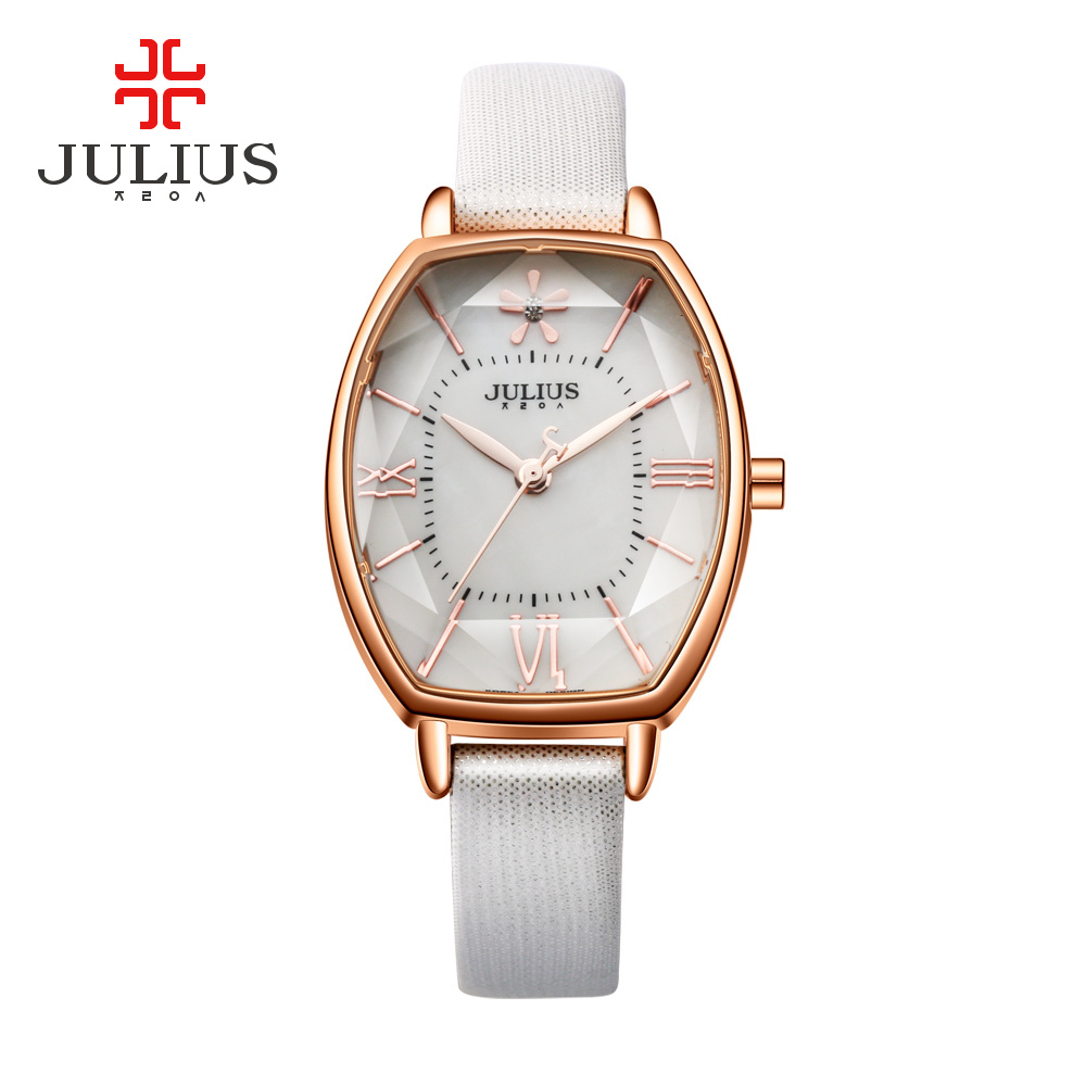 Julius Quartz Leather Watches Women Bracelet Korea Designer Watch Ladies Rose Gold Simple Wrist Watch Clock JA-920 montre femme<br><br>Aliexpress