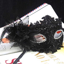 High Quality 2016 Hot Sale Lace Venetian Mask Masquerade Carnival Masked Ball Fancy Dress Costume New 4 Style