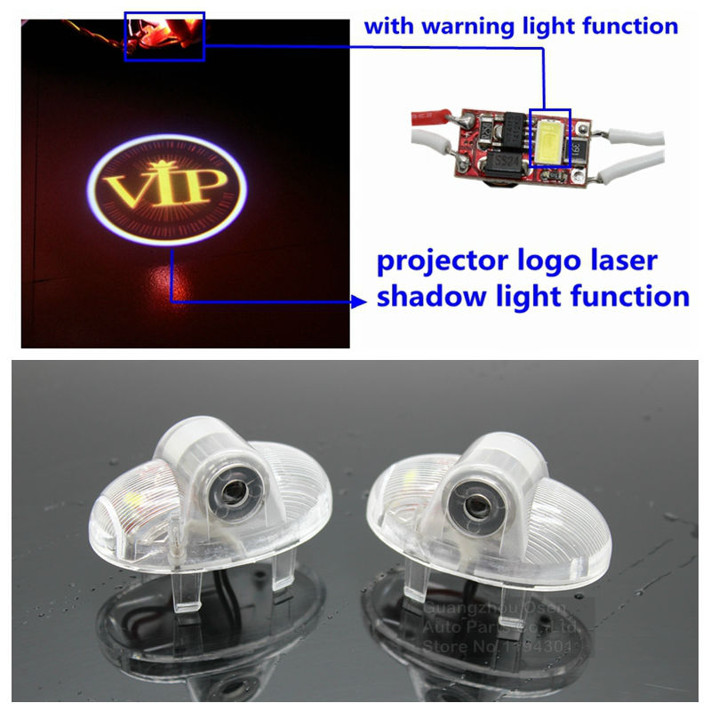 Special LED car door projector logo laser shadow welcome Warning light for Mazda 8 Mazda 6 Mazda RX8 5