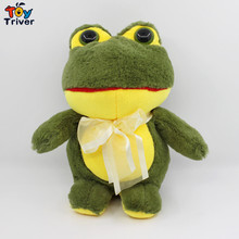 21cm Plush Big Eye Sad Green Red Frog Toys Doll Stuffed Animal Gift For Baby Kids Friend Baby Room Car Accessories Triver(China)