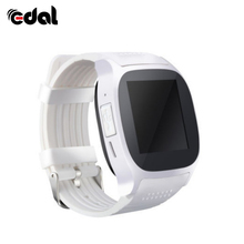 EDAL T8 Bluetooth Smart Watch With Camera Music Player Facebook Whatsapp Sync SMS Smartwatch Support SIM Tf Card For Android(China)