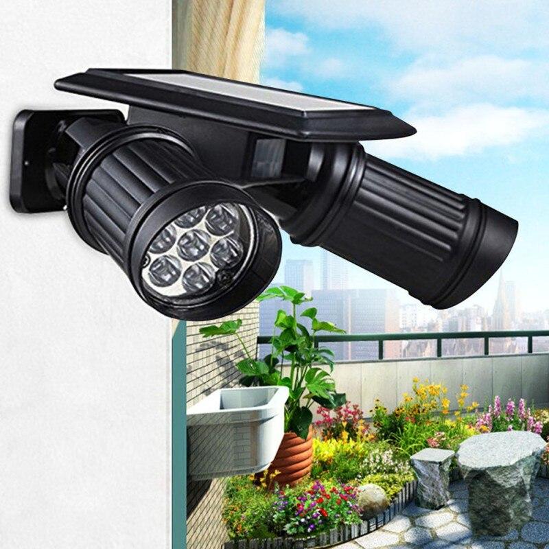 Waterproof PIR Motion Sensor 14 LEDs  Solar Lights Garden Lamp Outdoor Street Light<br><br>Aliexpress
