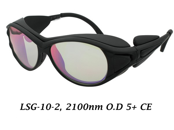 2100nmlaser safety eyewear (980-2500nm) OLY-LSG-10, CE O.D 4+, High V.L.T&gt;80%<br>