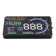 Auto GPS A8 5.5'' OBD II Car HUD Head Up Display Auto Windshied Reflective Screen Speed Display