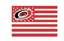 Carolina Hurricanes USA star stripe NHL Premium Team Hockey Flag 3X5FT(China)
