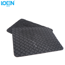 LOEN 1PC Silicone Anti Slip Mat case Car Mobile phone anti slip mat black Dashboard coin pad Car Sticky for mp4 GPS