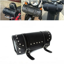 Motorcycle Tool Bag Saddle bag Handlebar Bags Motorbike Front Forks Sissy Bar Bags for Harley Motorbike Parts(China)