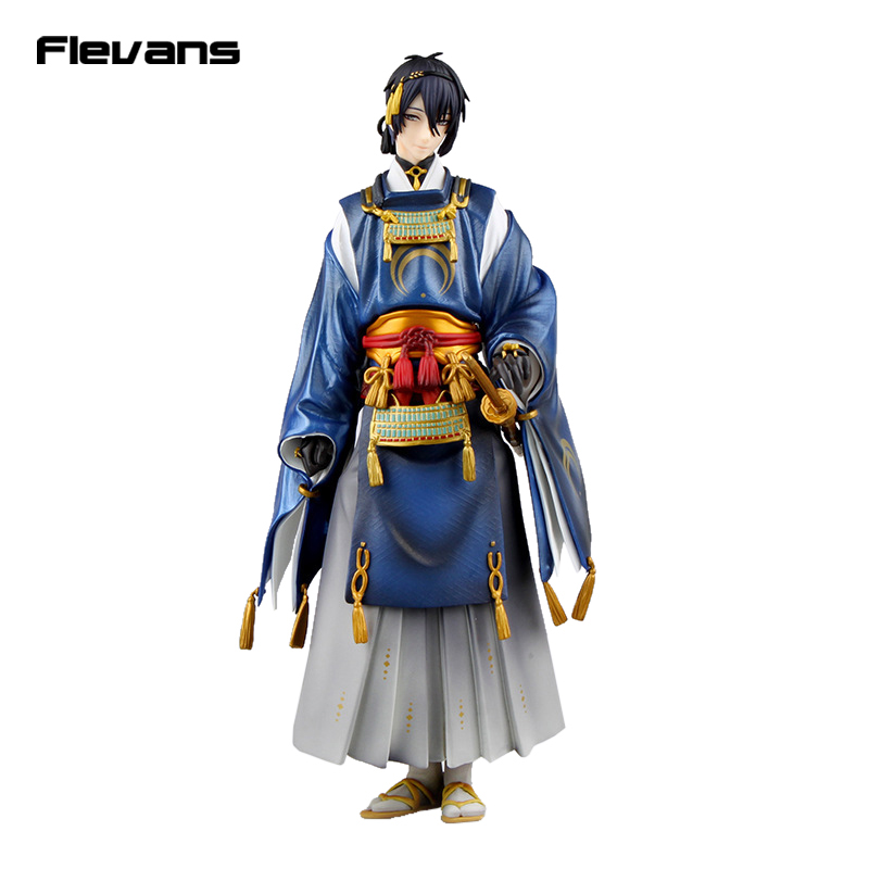 Touken Ranbu Online Mikazuki Munechika 1/8 Scale Painted Figure Collectible Model Toy 23cm<br>