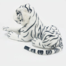 1PC 26cm Cute Plush White Snow Tiger Toys Stuffed Dolls Animals Pillows Childs Baby Kids Gifts