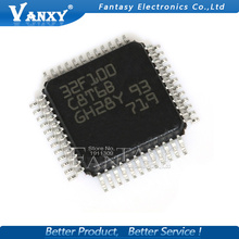 2PCS STM32F100C8T6B QFP32 32F100C8T6B QFP MCU new and original IC free shipping
