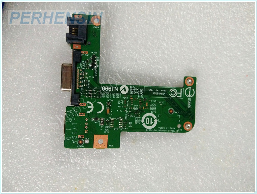 Original Genuine laptop FOR MSI FOR GE70 MS-17591 MS-1759 VGA USB WLAN BOARD MS-1759A<br>