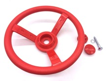 Kids Toys Racing Playground Plastic Dia Steering Wheel Toy Small Cabin Accessories Outdoor Games Toys Swing P102(China)