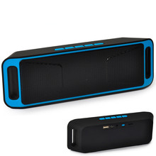 SC208 Wireless Bluetooth Speaker, Caixa De Som column Stereo Subwoofer USB Speakers TF FM Radio Built-in Mic Dual Bass Sound Box