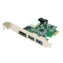 High quality External 2 Port USB 3.0 & Power Over Esata & 19pin USB Header Combo Pci-e PCI Express Card