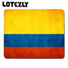 high quality hot sale Colombia flag creative notebook mouse pad / anti-slip mouse pad