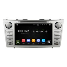 "8"" Octa-core Android 6.0 Car Multimedia Player For Toyota CAMRY 2007-2011 Car Video Free MAP Audio Stereo Car DVD Player(China)"