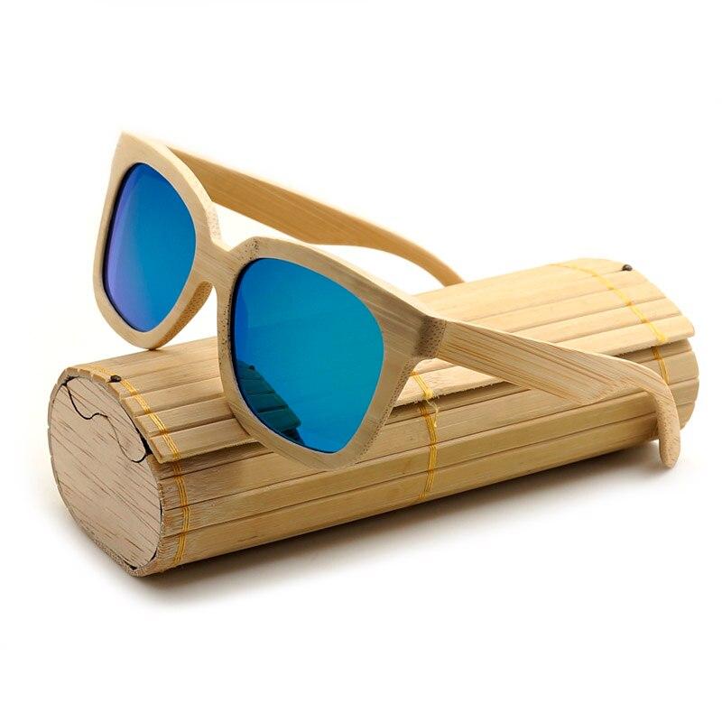 BOBO BIRD Top Brand Two Colors Luxury Design Nature Bamboo Polarized Sun glasses with Delicate wood box 2017 Oculos Feminino<br><br>Aliexpress