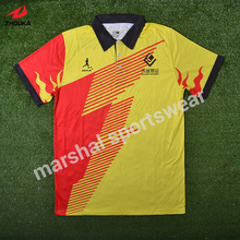 Top quality 100%polyester grade original sublimation custom soccer tee shirt