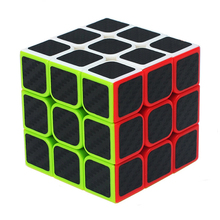 Buy 3X3X3 Magic Cubes Fidget Anti Stress Puzzle Carbon Fiber Sticker Educational Toys Children Gift for $4.74 in AliExpress store