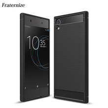 Buy Sony Xperia XZ XZs XZ Premium XA1 Case Shockproof Armor Carbon Fiber TPU Back Cover Sony Xperia XA1 Ultra Capa Coque for $2.79 in AliExpress store