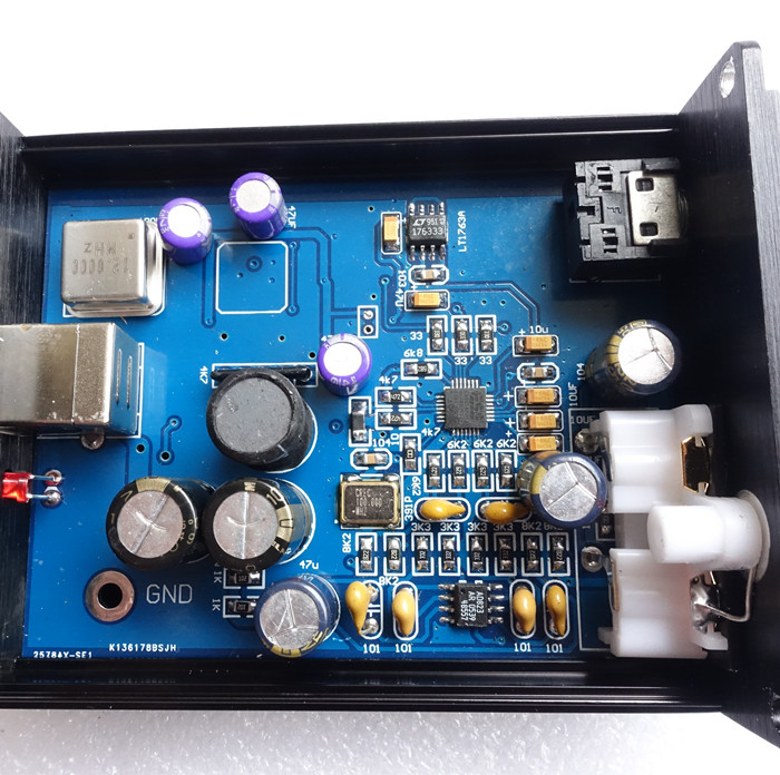 Breeze audio SE1 ES9018 ES9018K2M USB decoder HIFI audio card DAC headphone amplifier earphone amp