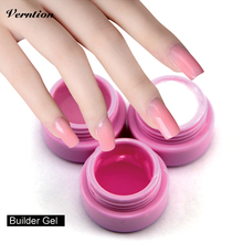 Verntion Need UVled Lamp 3 color Base Manicure Professional Nails Gel Varnish Soak Off Strong UV Builder Gel(China)