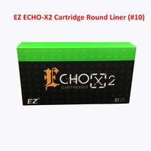 EZ ECHO-X2 Cartridge #10(0.30mm) Round Liner 1003RL Tattoo Needle for Rotary Cartridge Tattoo Machine Pen 20PCS/Box(China)