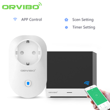 Original Orvibo Magic Cube Universal Smart Remote Controller And B25 Wifi Wireless Control Socket Plug For Smart Home Automation(China)