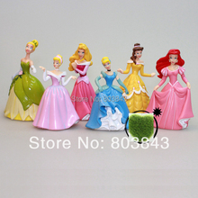 High Quality PVC Delicate Fairy White Snow Princess Action Figure Girls Toy for Gift Birthday Collection