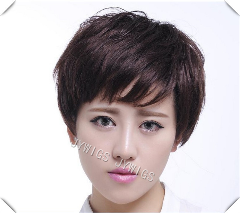 High Quality Synthetic Sexy MAMA Wig  Middle Aged Women  Short Bob Hair Free Wig Cap<br><br>Aliexpress