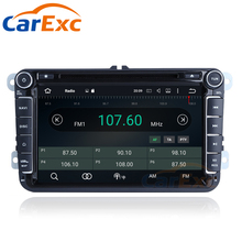 2G RAM Android 7.1 OS Car Multimedia Stereo Player For Passat B5 B6 B7 polo touran Golf 5 6 Caddy JETTA TIGUAN CC Radio With GPS(China)