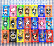New Hot Minions Stitch Batman Bear Superman Cat Soft Silicon Phone Back Cover Phone Case For LG Google Nexus 4 E960