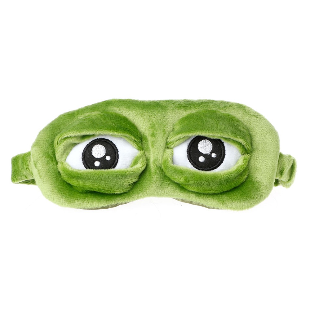 Apparel Accessories Men's Earmuffs Jaycosin Lovely Mask Cover Plush 3d Frog Mask Cover Sleeping Rest Travel Sleep Rest Sleep Anime Funny Gift Benifit For Ears Eyes