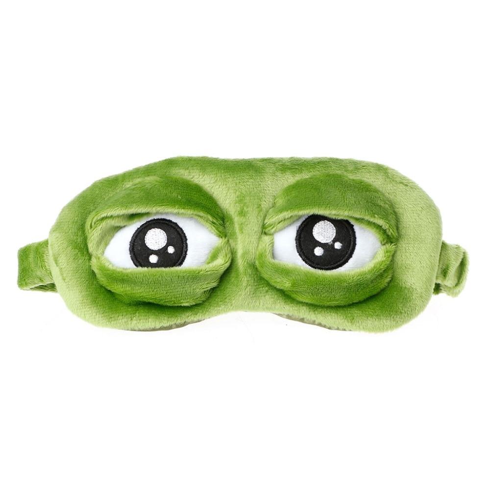 Men's Earmuffs Jaycosin Lovely Mask Cover Plush 3d Frog Mask Cover Sleeping Rest Travel Sleep Rest Sleep Anime Funny Gift Benifit For Ears Eyes Men's Accessories