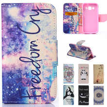 Cute Cartoon Dream Love Perfume Bottle Wallet Leather Flip Funda Brand Case For Samsung Galaxy Core Prime LTE G360 G3608 Cover(China)