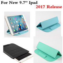 New PU Leather Sleeve Case For iPad Air 1 2 Pro 9.7 inch Tablet Cover Pouch For New ipad 9.7'' 2017 Release Tablet Bags