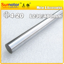 D10 L230 Diameter 10mm Length 230mm 45# Steel shaft Toy axle transmission rod shaft  DIY Chrome Plated axis CNC XYZ
