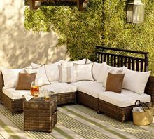 2017 luxury classic home furniture outdoor rattan furniture 5 seater sofa set