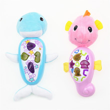 Baby Toys 0-12 Months Baby Music Toys Educational Flashing Dolphin Toys For Babies r Brinquedos Para Bebe Oyuncak