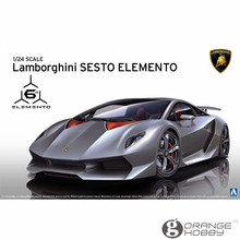OHS Aoshima 01074 1/24 Sesto Elemento Scale Assembly Car Model Building Kits