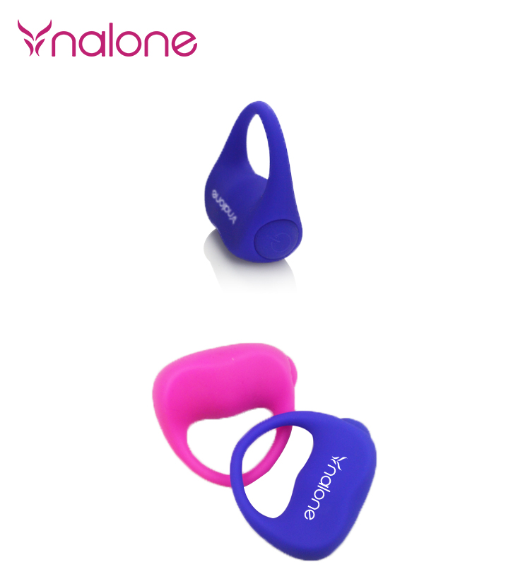 Nalone Silicone chastity Penis Rings, cockring Male Adult Sex Toys for Men Extend Time Cock Rings with vibrator 16