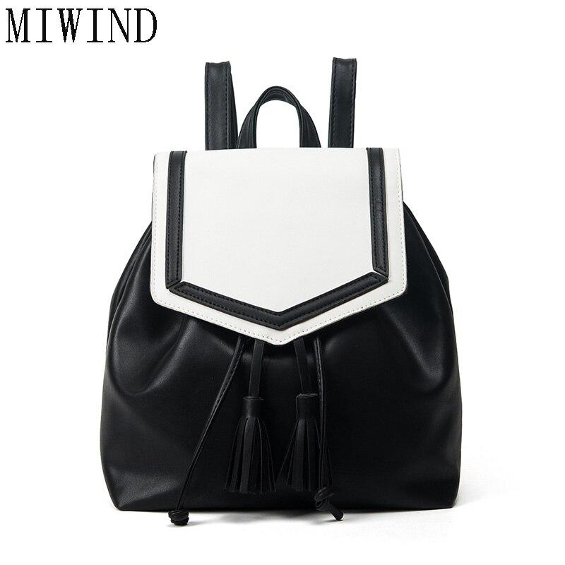 Fashion Backpack New Travel Bag Drawstring Backpack Women School Student Teenage Girl Mochila Escolar Women Backpack   TDY514<br>