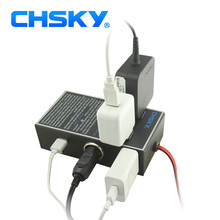 CHSKY Car Power Inverter DC 12V/24V to 220V Power Converter With Car USB Charger Adapter Cigarette Lighter 12V to 220V Inverter(China)